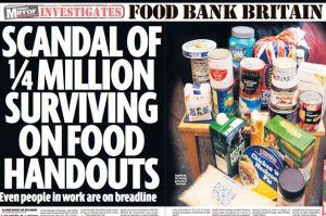Scandal of 1/4 Million Surviving on Food Handouts
