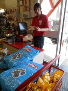 How to turn £30 into £98 worth of dog food...