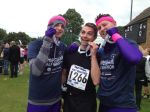 Steve & Chris run the Chippenham Half Marathon for Doorway